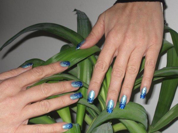 Du bleu, du bleu encore du bleu...