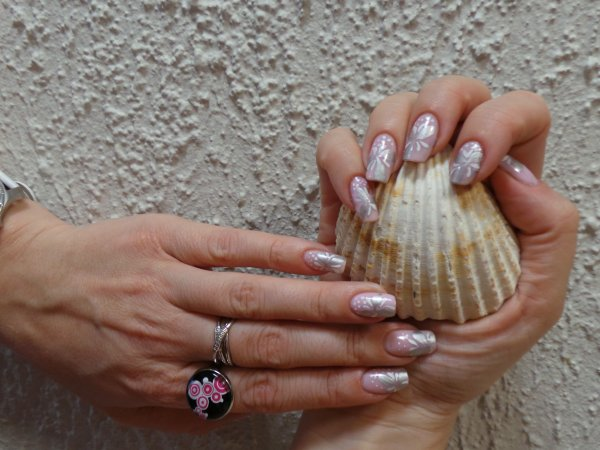 Nail art douceur