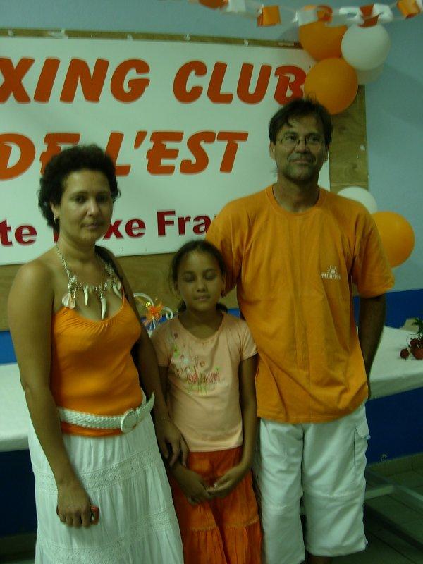 Quelques membres de notre ligue reunionnaise de boxe française