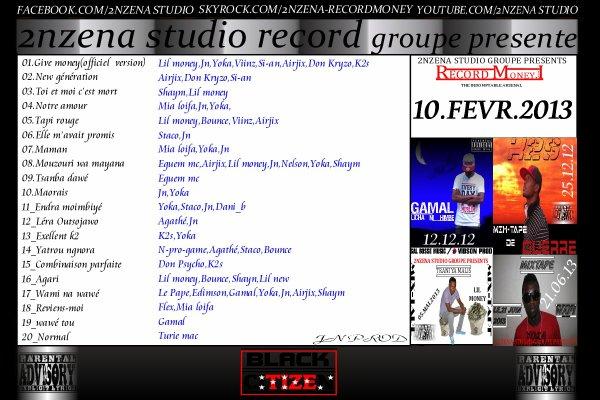 Record Money vol1 / Notre amour_JN_YOKA & Mia loifa (2013)
