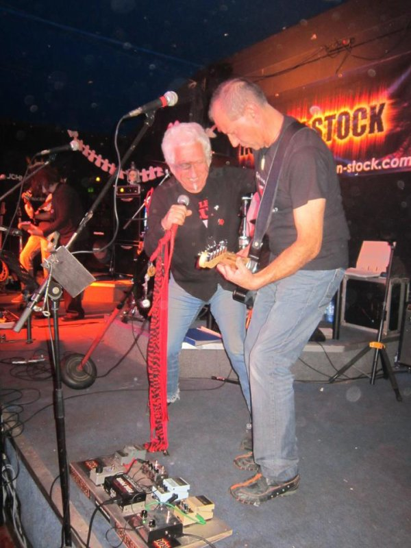 Concert rock en stock
