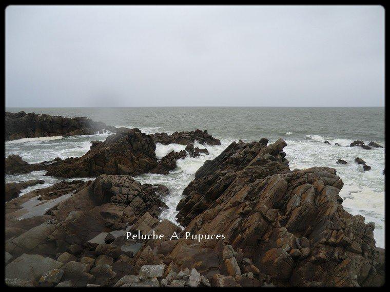 La mer que l'on voit danser.....