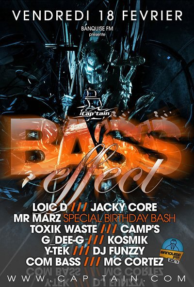 Bass effect @t cap'tain