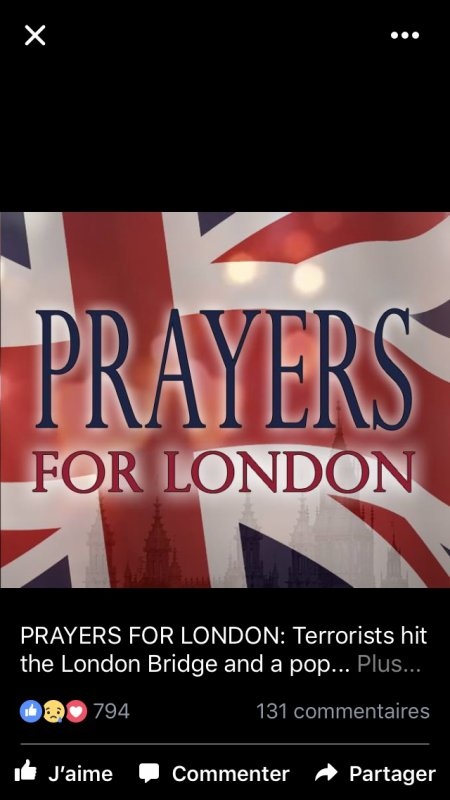 PRAYERS FOR LONDON