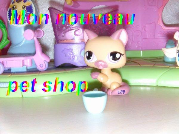 Mon nouveau pet shop