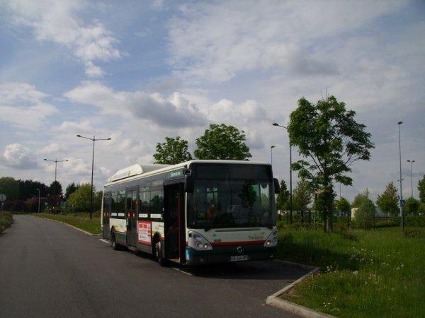 Citelis 12 GNV sur la ligne Z6 ( Roubaix Gare Jean Lebas <-> Wattrelos ZAC Winhoutte )