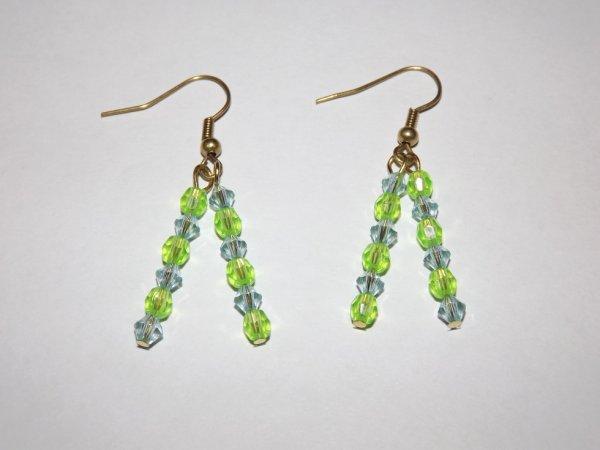 Boucles d'oreilles rain of pearls