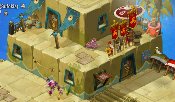 La nouvelle villa de la guilde !