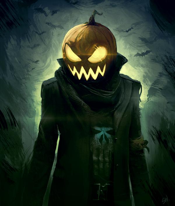 bientot Halloween j 'adore cette fête