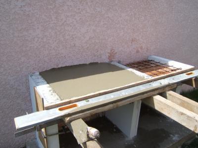 le plan de travail construire son barbecue. Black Bedroom Furniture Sets. Home Design Ideas