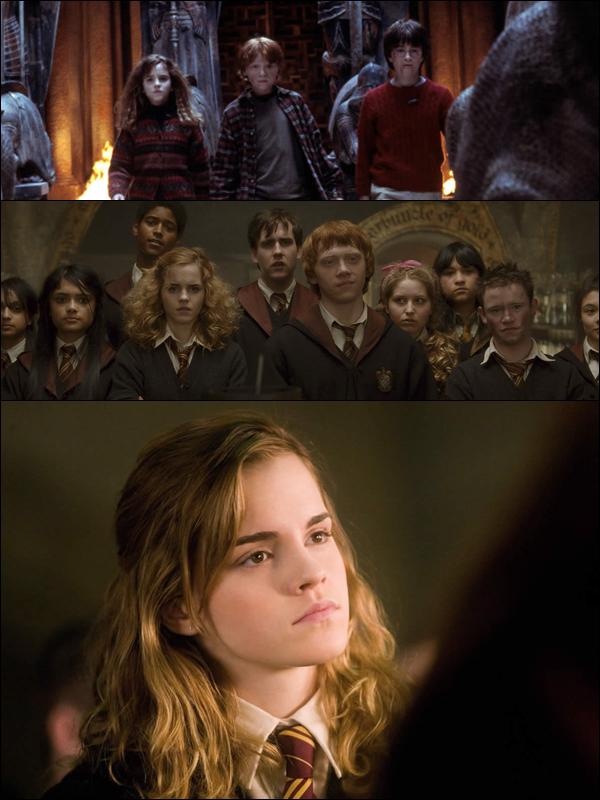 """Harry Potter    HARRY POTTER : C'EST VRAIMENT LA FIN. SORTEZ LES MOUCHOIRS.    C'est la fin d'une belle aventure... En effet, l'équipe d'Harry Potter vient de terminer le tournage des scènes du dernier film de la saga le week-end dernier. Et ce clap de fin est un moment particulièrement déchirant pour les acteurs qui se sont connus très jeunes, lorsqu'ils ont tourné le premier film en 2001. Du coup, Emma Watson, l'interprète d'Hermione Granger, a invité ses collègues et amis dans sa maison londonienne pour un dîner d'adieu. """"À la dernière semaine de tournage, Emma nous a invités à dîner. Nous avons partagé nos souvenirs et fait part de nos béguins secrets pour nos collègues, mais nous ne dévoilerons rien publiquement !"""", a plaisanté James Phelps, qui incarne Fred Weasley, à People.      Pour rappel, Harry Potter et les Reliques de la Mort- partie 1 sortira le 24 novembre 2010 et le dernier volet, Harry Potter et les Reliques de la Mort- partie 2, débarquera sur nos écrans en juillet 2011."""