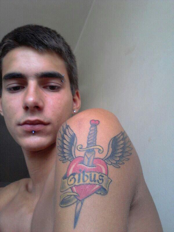 tatoo fait pour mon pere