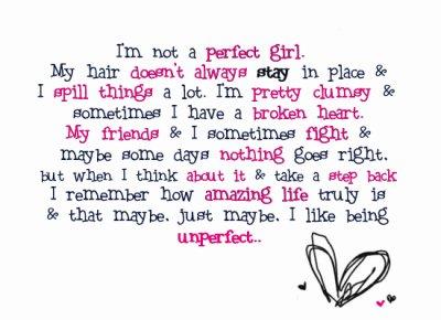 I'm not perfect ;D