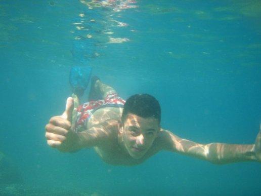 Sous l eau :P