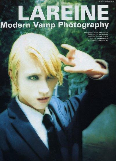 Photos de Kamijo à l'époque de LAREINE