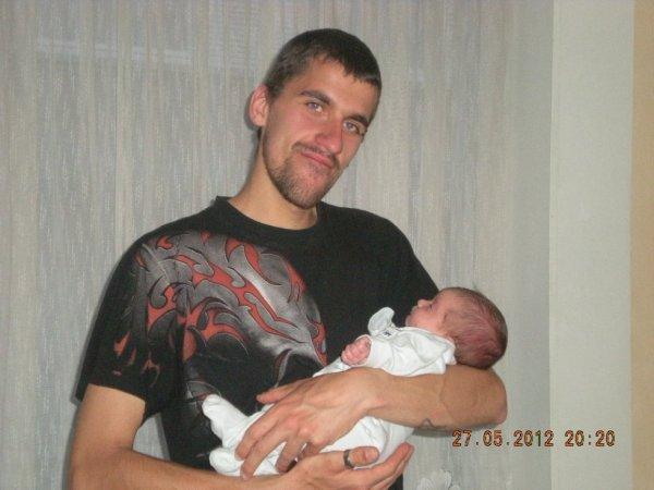 mon homme et notre fille