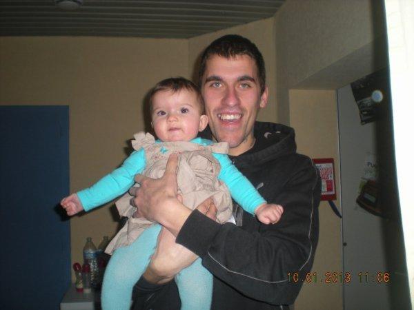 ma fille et son papa