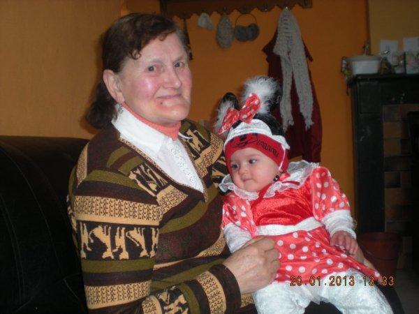 ma grand mere et ma fille avan les soumonce