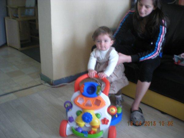 moi et ma fille et son nouvo jeu