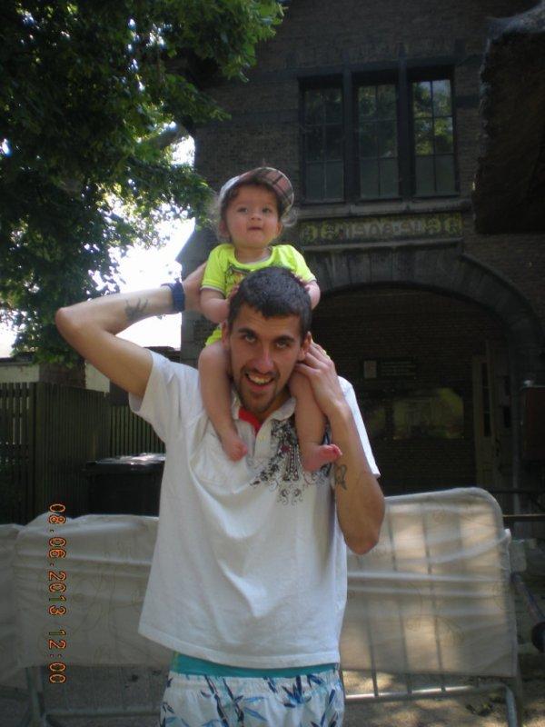 mon cherie et notre fille