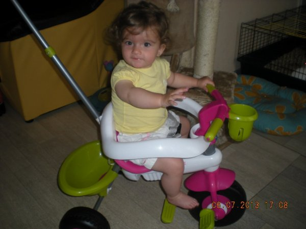 ma puce et son new velo