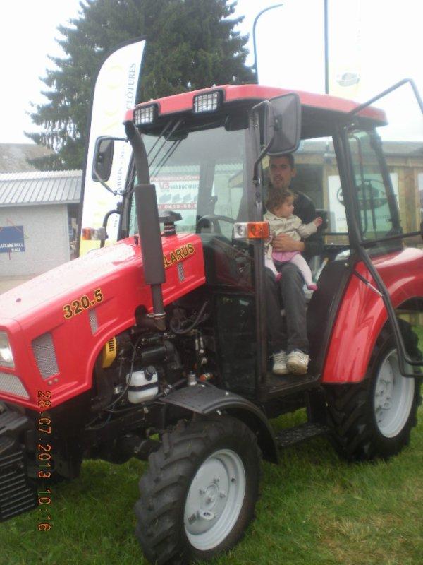 tjr dans le tracteur