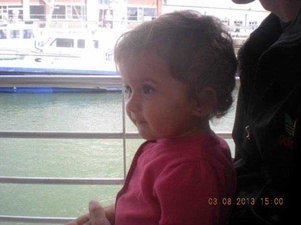 ma puce sur un bateau