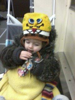 ma fille en revenant de charleroi