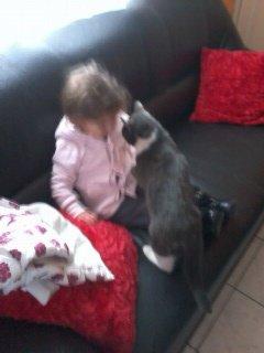 ma puce et le chat de ma grand mere