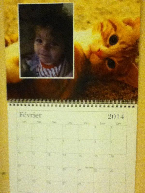 calendrier fevrier