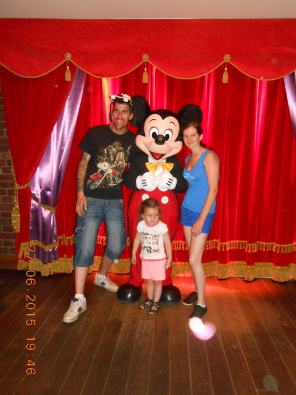 ma famille et mickey