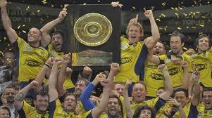 l'équipe de rugby de Clermont-Ferrand que j'aime