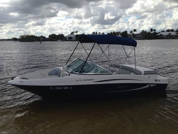 2008 175 SPORT SEARAY WITH ONLY 26HRS