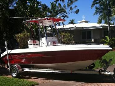 2010 22FT GLASSTREAM BAY BOAT
