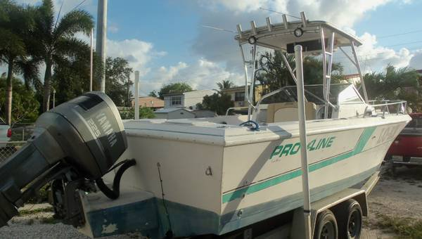 PROLINE 23' WALK YAMAHA