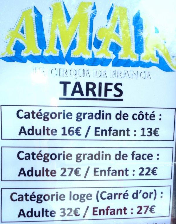 REPORTAGE SUR LE CIRQUE AMAR AUX SABLES D'OLONNE ... ARRIVEE ET MONTAGE
