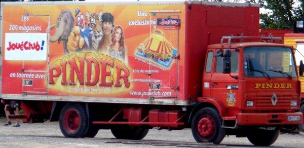 REPORTAGE SUR LE CIRQUE PINDER AUX SABLES D'OLONNE EN 2016... LES CONVOIS (3)