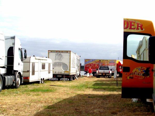 REPORTAGE SUR LE CIRQUE PINDER AUX SABLES D'OLONNE EN 2016... LES VUES DIVERSES (2)