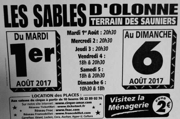 CIRQUE AMAR 2017 : EPISODE 13 : QUE DE FLYERS ET D'AFFICHES MAGASINS !