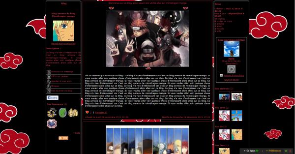 Habillage Naruto suite : Akatsuki