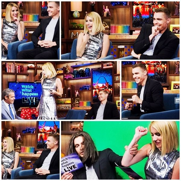 12 juillet 2016 - Dave participer a l'émission Watch What Happens Live.