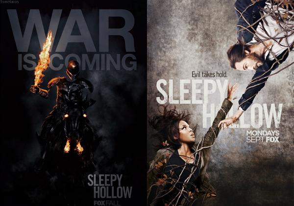 • • • Premiers Posters de la saison 2 de Sleepy Hollow sont en ligne ! • • • 20 Aout 2014