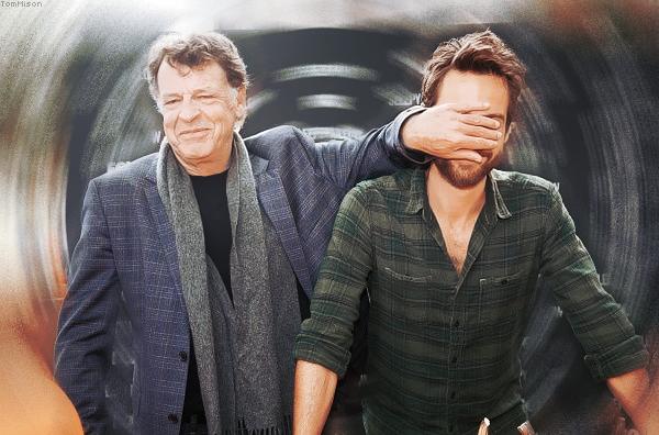 • • • Tom Mison et John Noble visitaient le FOX's Sleepy Hollow-een • • • 28 Octobre 2014