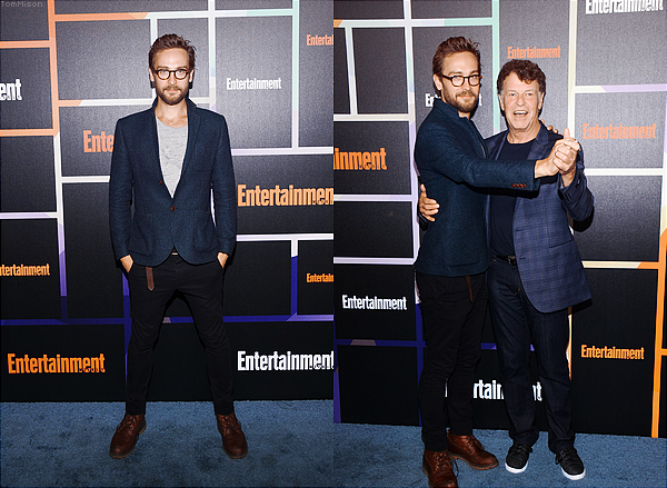 • • • Tom et John Noble étaient invités au Entertainment Weekly's Annual Comic-Con Celebration • • • 26 Juillet 2014