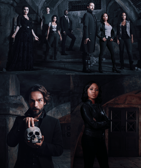 • • • Photo promo de la saison 3 de Sleepy Hollow • • • 23 Septembre 2015
