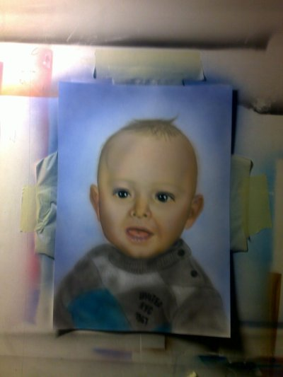 portrait couleur debut