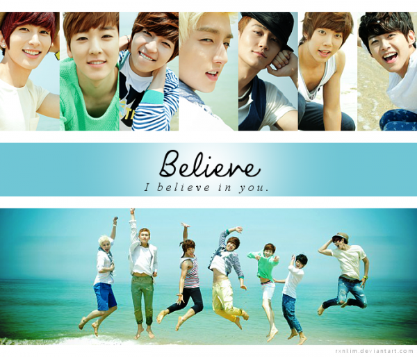 The Special To KISSME / U-KISS - Believe (2012)