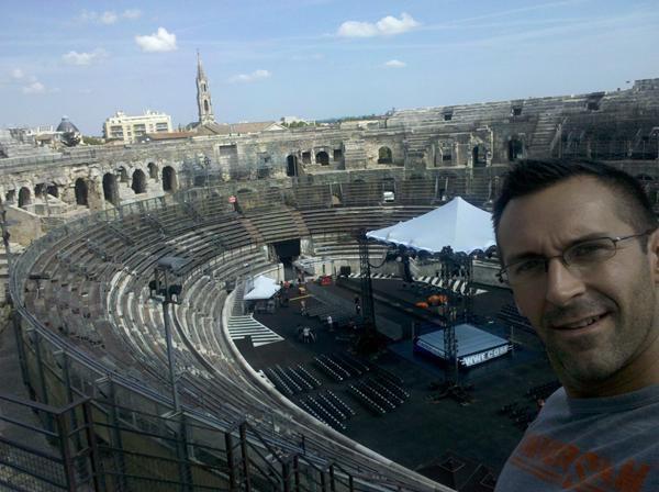 John Cone aux Arène de Nîmes aujourd'hui :)