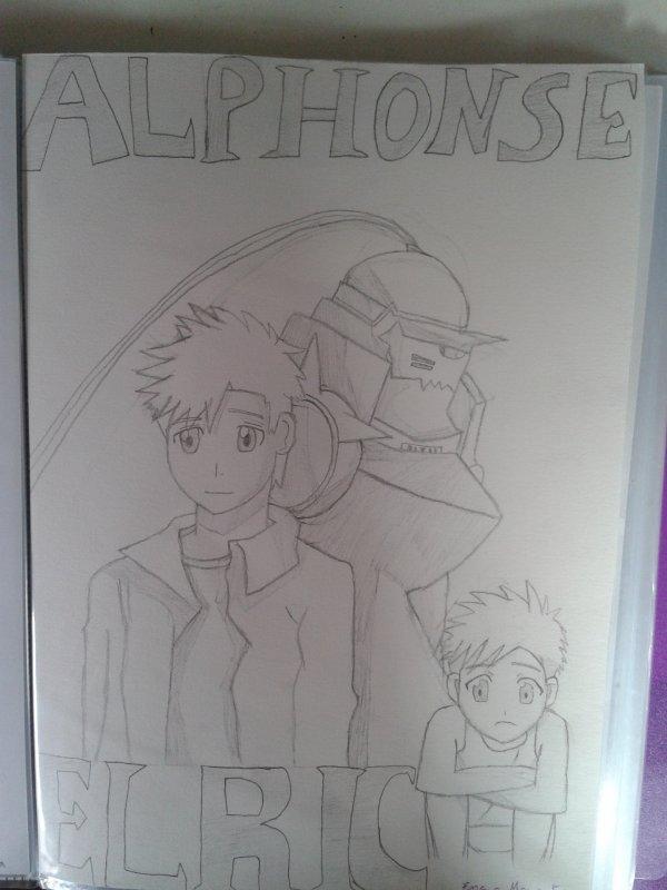 Mes dessin adoré de full metal alchemist