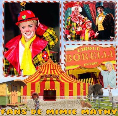 """N° 346 : Joséphine, ange gardien """"Le cirque Borelli"""""""